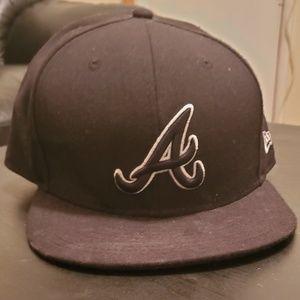Atlanta Braves Blackout Hat